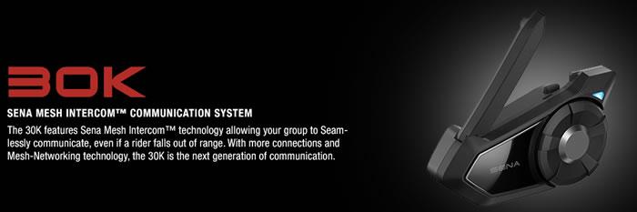 Sena 30K Mesh Bluetooth Intercom - Dual
