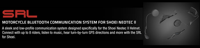 Sena SRL Shoei Neotec 2 Intercom System